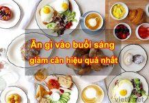 Ăn gì vào buổi sáng để giảm cân hiệu quả nhất