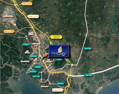 Tuyến đường liên kết dự án Phú Mỹ Central Port