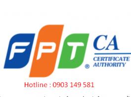 Bảng giá chữ ký số FPT-ca