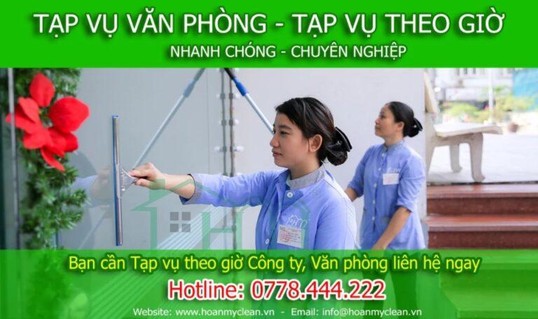 Review – Dịch vụ tạp vụ văn phòng theo giờ tại Hà Nội