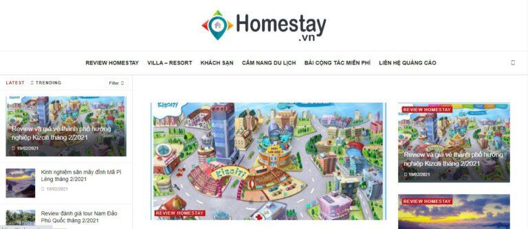 Chuyên trang quảng cáo homestay hàng đầu tại Việt Nam